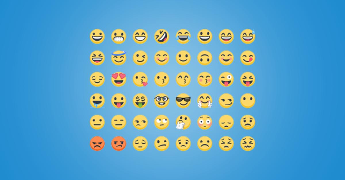Hvordan legge til emojis på Facebook?